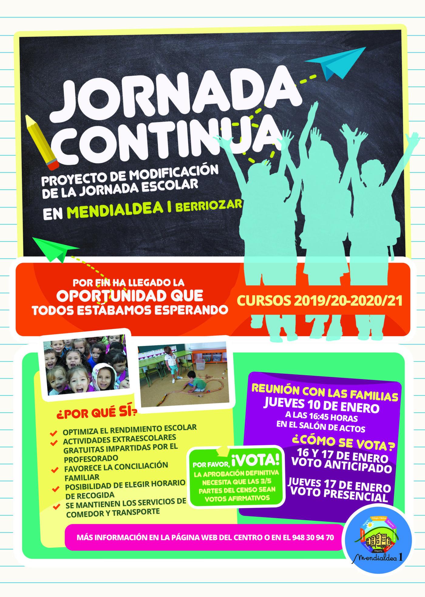 JORNADA CONTINUA 2019